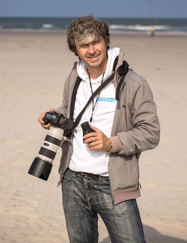 Mario V3 Profilfoto Strand Norderney Portrait © Sven Wickenkamp