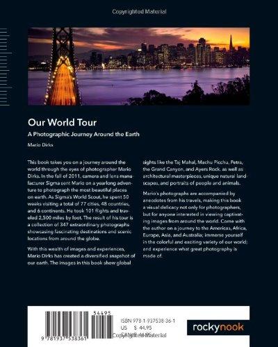 Cover hinten Our World Tour Englisch
