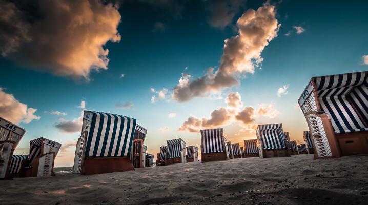 Strandkörbe auf Norderney (S. Wickenkamp)