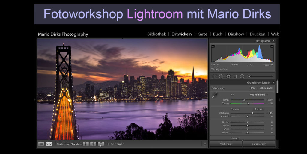 Workshop Lightroom Einsteiger