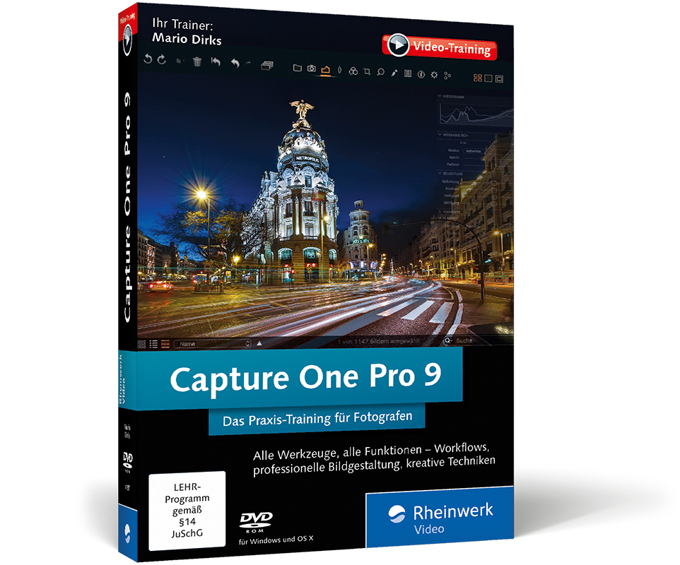 Cover Capture One V 8