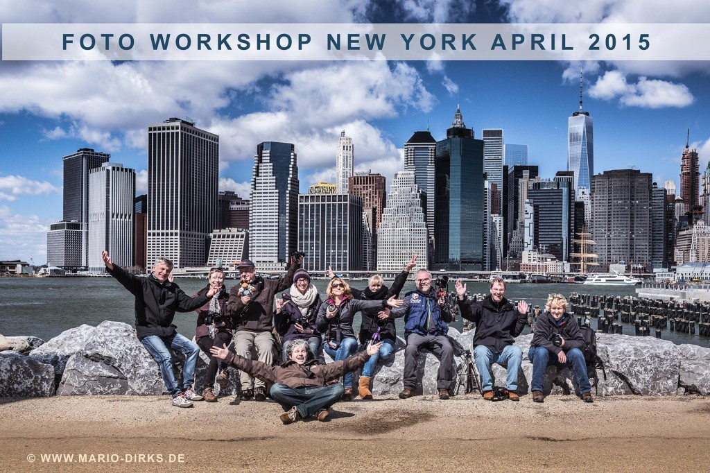 Gruppenfoto New York © Mario Dirks